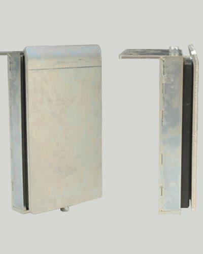 Odbój z płytą stalową 456x240x95